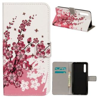 Plånboksfodral Huawei P20 - Körsbärsblommor