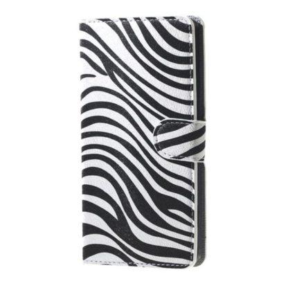 Plånboksfodral Samsung Galaxy A6 Plus - Zebra