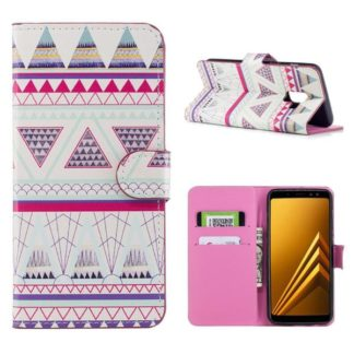 Plånboksfodral Samsung Galaxy A6 Plus - Aztek