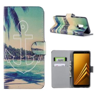 Plånboksfodral Samsung Galaxy A6 Plus - Ankare