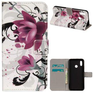 Plånboksfodral Huawei P20 Lite - Lotus