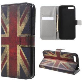 Plånboksfodral Huawei Y6 2018 - Flagga UK