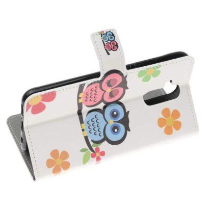 Plånboksfodral Huawei Mate 20 Lite - Ugglor & Blommor