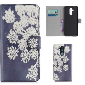 Plånboksfodral Huawei Mate 20 Lite - Små Blommor