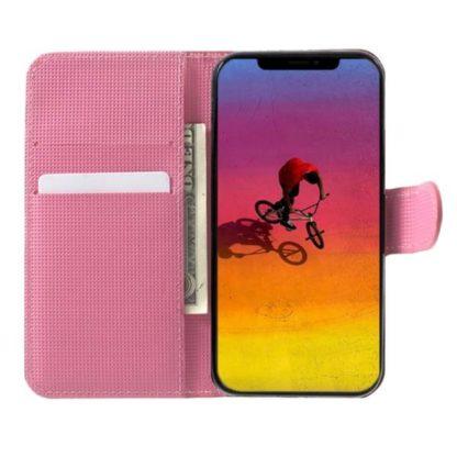 Plånboksfodral Apple iPhone XS Max - Körsbärsblommor