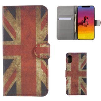 Plånboksfodral Apple iPhone XS Max - Flagga UK