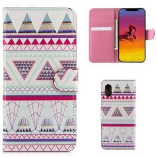 Plånboksfodral Apple iPhone XS Max - Aztek