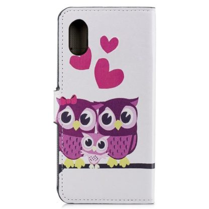 Plånboksfodral Apple iPhone XR - Ugglor & Hjärtan