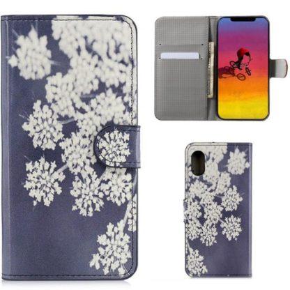 Plånboksfodral Apple iPhone XR - Små Blommor