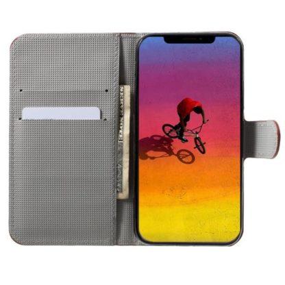 Plånboksfodral Apple iPhone XR - Prickigt med Uggla