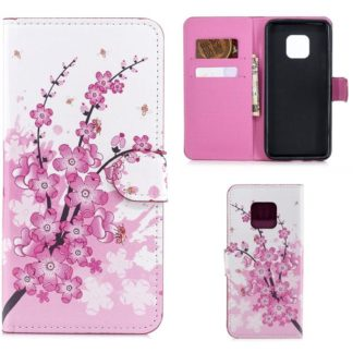 Plånboksfodral Huawei Mate 20 Pro - Körsbärsblommor