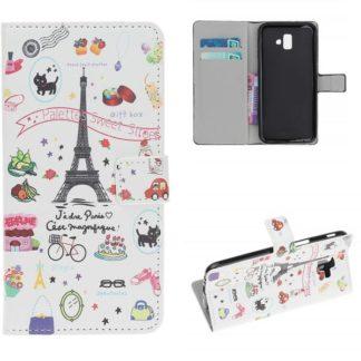 Plånboksfodral Samsung Galaxy J6 Plus - Paris