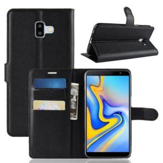 Plånboksfodral Samsung Galaxy J6 Plus (2018) - Svart
