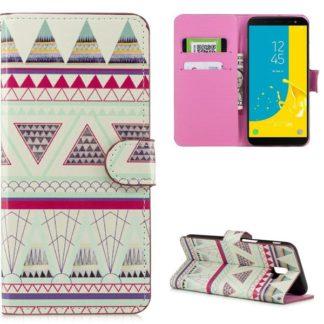 Plånboksfodral Samsung Galaxy J6 Plus - Aztek
