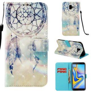 Plånboksfodral Samsung Galaxy J6 Plus – Drömfångare Himmel