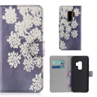 Plånboksfodral Samsung Galaxy S9 Plus - Små Blommor