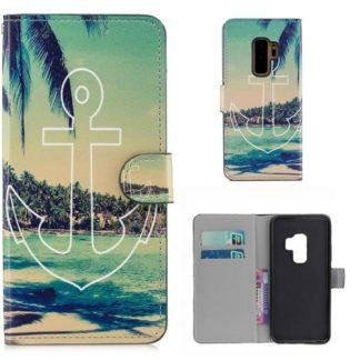 Plånboksfodral Samsung Galaxy S9 Plus - Ankare