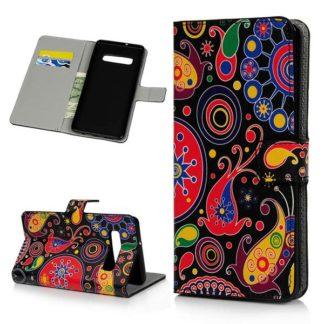 Plånboksfodral Samsung Galaxy S10 - Paisley
