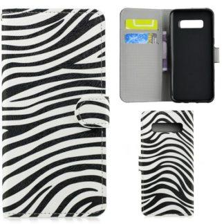 Plånboksfodral Samsung Galaxy S10 Plus - Zebra