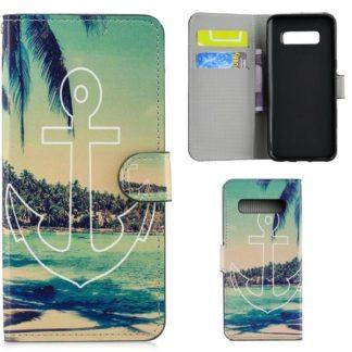 Plånboksfodral Samsung Galaxy S10 - Ankare