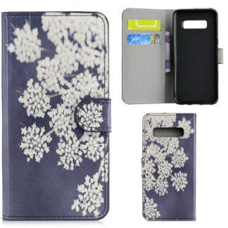 Plånboksfodral Samsung Galaxy S10 Plus - Små Blommor