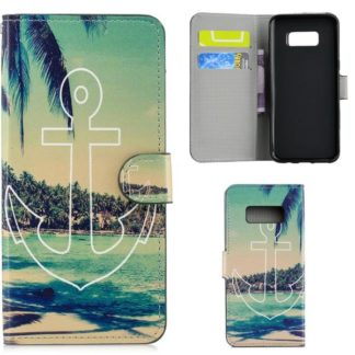Plånboksfodral Samsung Galaxy S10e - Ankare