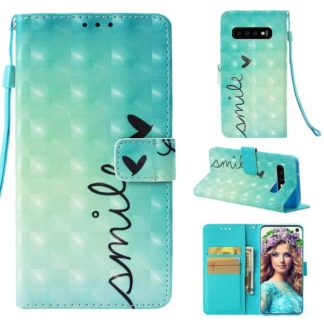 Plånboksfodral Samsung Galaxy S10 - Smile