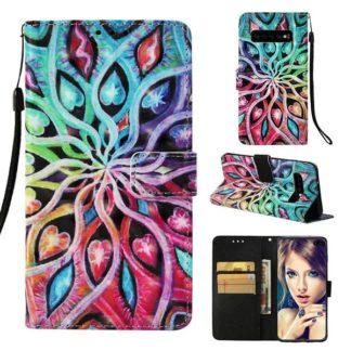 Plånboksfodral Samsung Galaxy S10 Plus - Psykedeliskt