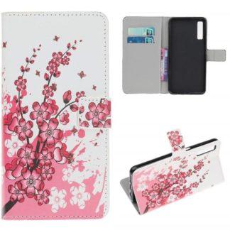 Plånboksfodral Samsung Galaxy A50 - Körsbärsblommor
