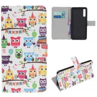 Plånboksfodral Samsung Galaxy A50 - Ugglor På Kalas