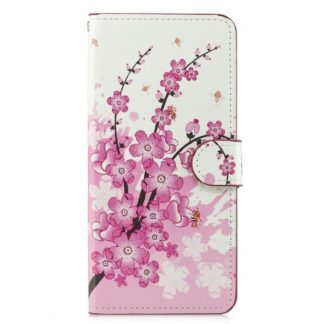 Plånboksfodral Samsung Galaxy S10 Plus - Körsbärsblommor