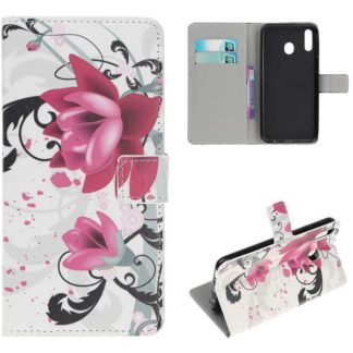 Plånboksfodral Samsung Galaxy A40 - Lotus