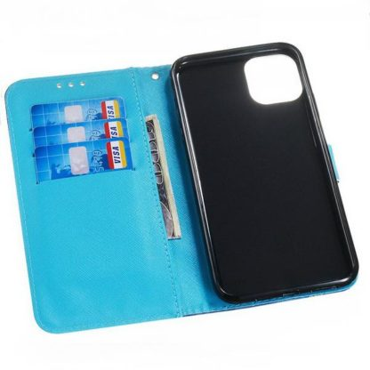 Plånboksfodral Apple iPhone 11 Pro – Utsmyckad Uggla