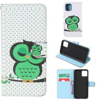 Plånboksfodral Apple iPhone 11 Pro - Prickigt med Uggla