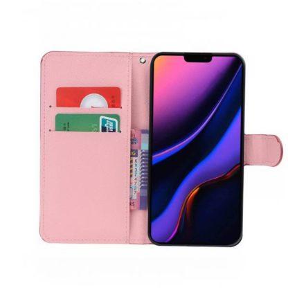 Plånboksfodral Apple iPhone 11 Pro Max - Ugglor & Hjärtan