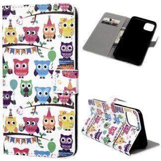 Plånboksfodral Apple iPhone 11 Pro Max - Ugglor På Kalas