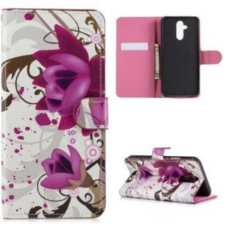Plånboksfodral Huawei Mate 20 Lite - Lotus
