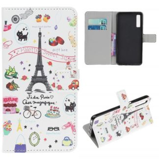 Plånboksfodral Samsung Galaxy A70 - Paris