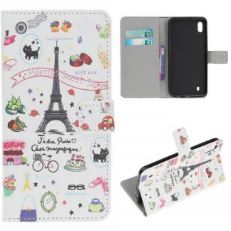 Plånboksfodral Samsung Galaxy A10 - Paris