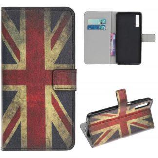 Plånboksfodral Samsung Galaxy A70 - Flagga UK