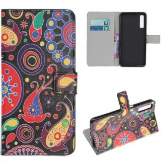 Plånboksfodral Samsung Galaxy A70 - Paisley