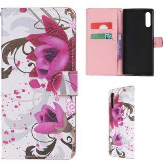 Plånboksfodral Samsung Galaxy A70 - Lotus