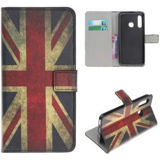 Plånboksfodral Huawei P30 Lite - Flagga UK