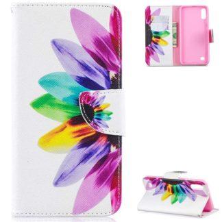 Plånboksfodral Samsung Galaxy A10 – Färgglad Blomma
