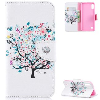 Plånboksfodral Samsung Galaxy A10 – Färgglatt Träd