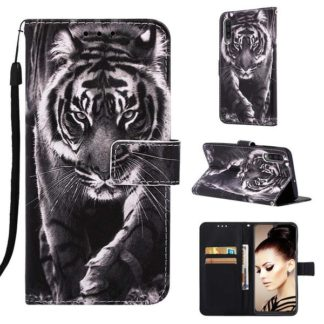 Plånboksfodral Samsung Galaxy A50 – Tiger