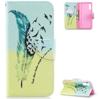 Plånboksfodral Samsung Galaxy A50 – Take These Broken Wings