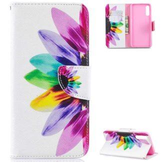 Plånboksfodral Samsung Galaxy A50 – Färgglad Blomma