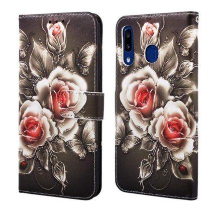 Plånboksfodral Huawei P Smart 2019 – Rosor