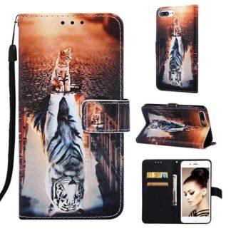 Plånboksfodral Apple iPhone 8 Plus – Reflektion